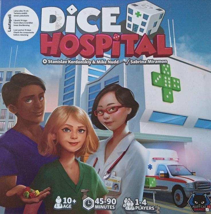 Dice Hospital lautapeli
